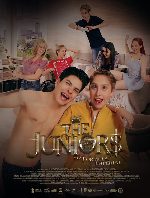 Poster_Oficial_-The_Juniors_y_la_Fórmul