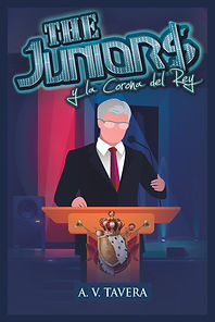 Portada Saga The Juniors y la Corona del Rey