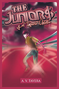 Portada Saga The Juniors y El Imperio Unixilia