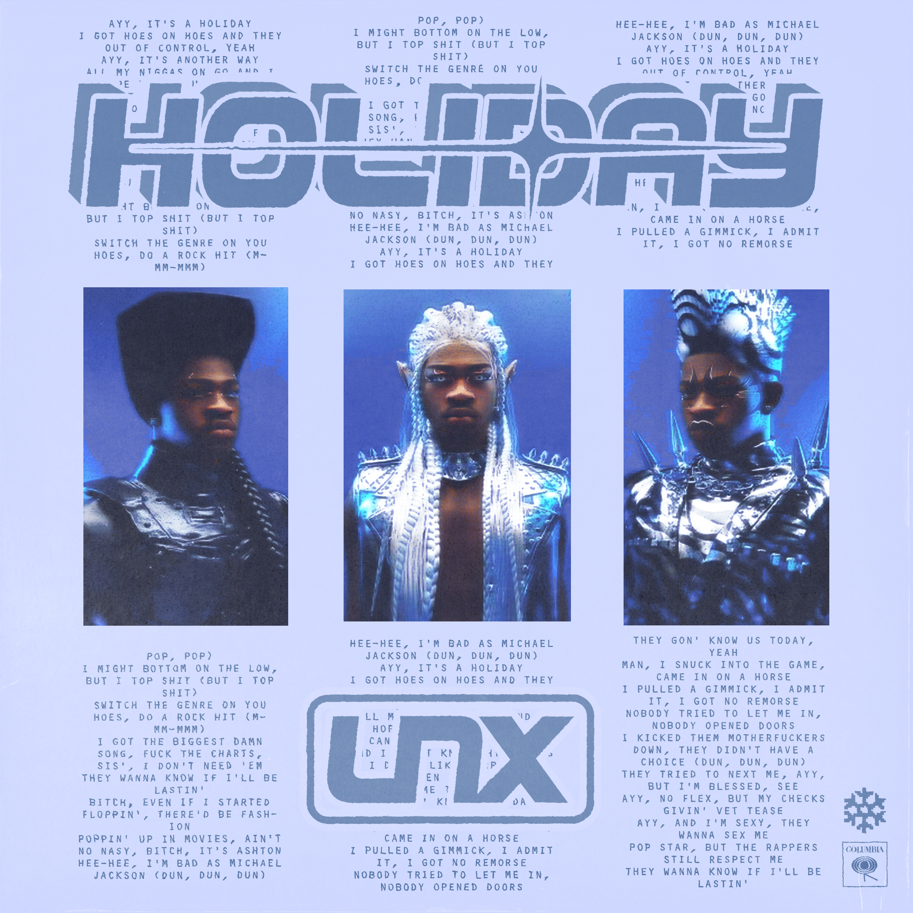 Holiday Lil Nas X CONCEPT