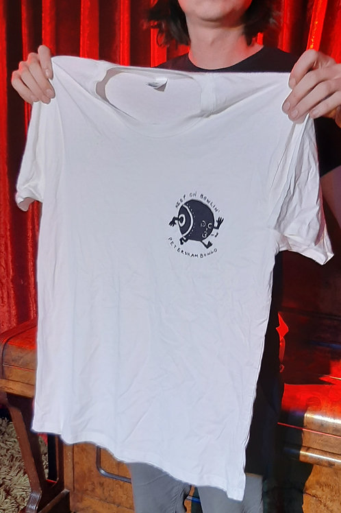 PBC Bowling Ball Shirt - White