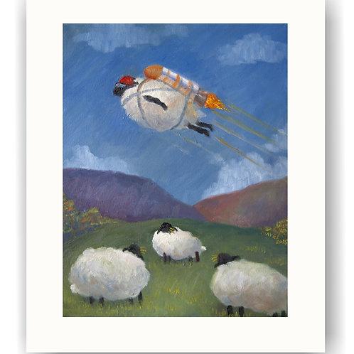 Sheep Flight One