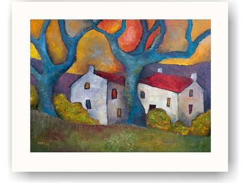 Blue Tree Houses