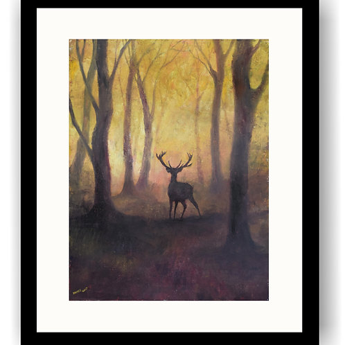 Stag in a Clearing