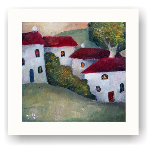Little Houses and Trees