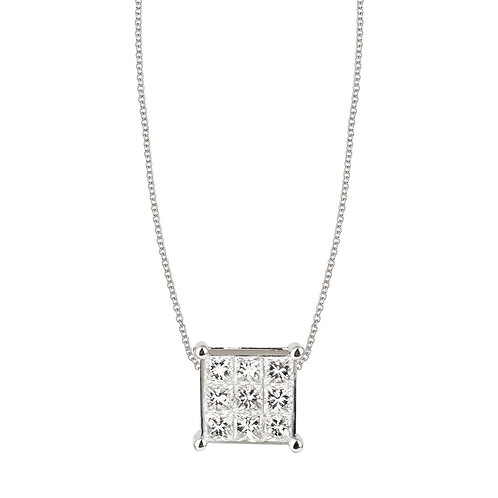 Collana Eterno Diamanti ct. 0.55