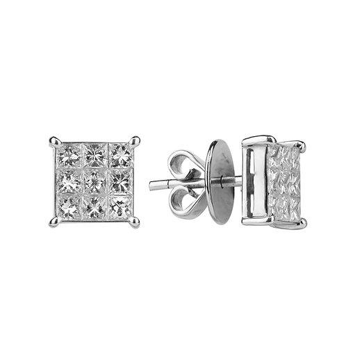 Orecchini Eterno Diamanti ct. 1.05