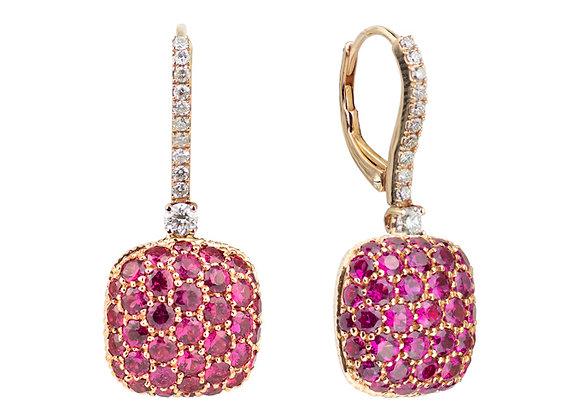 Rubies Parc Guell Earrings
