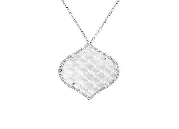 White Gold Venice Necklace