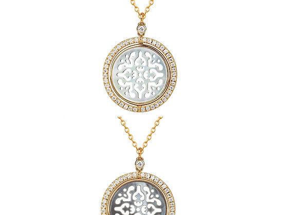Reversible Damasco Necklace