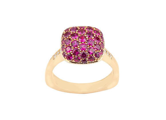 Rubies Parc Guell Ring