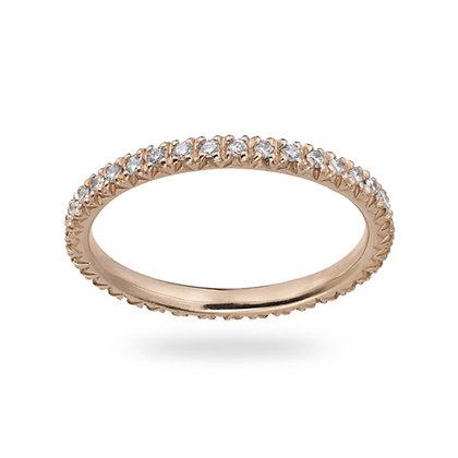 Rose Gold Smile Ring