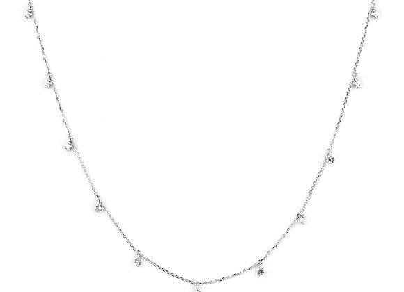 Diamonds Smile Necklace