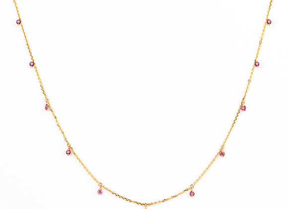 Rubies Smile Necklace