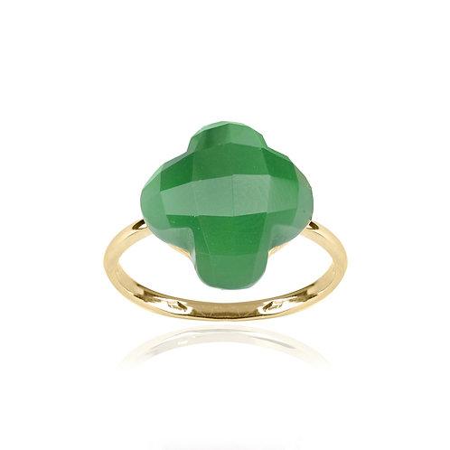 Anello Mia Fiore Verde
