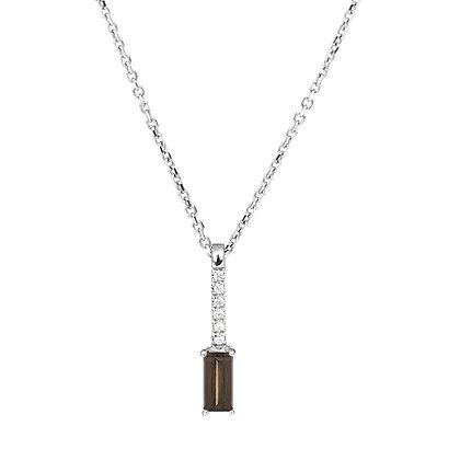 Quartz and Diamonds Empire Necklace