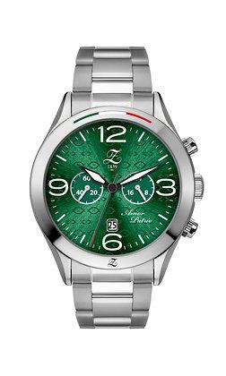 Borealis Green Chronograph Steel
