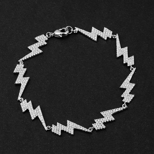 Bracciale Fulmine Iced Out