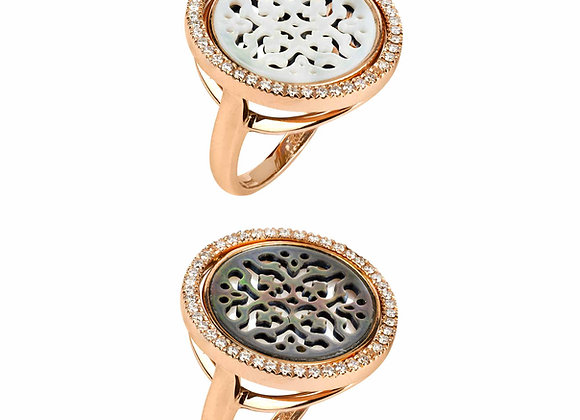 Reversible Damasco Ring