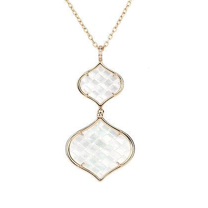 Rose Gold Double Venice Necklace