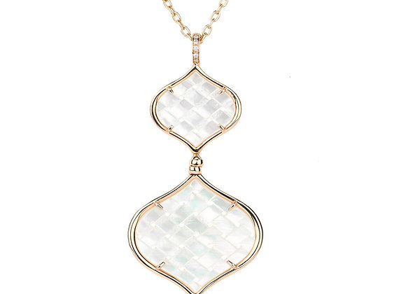 Rose Gold Venice Necklace