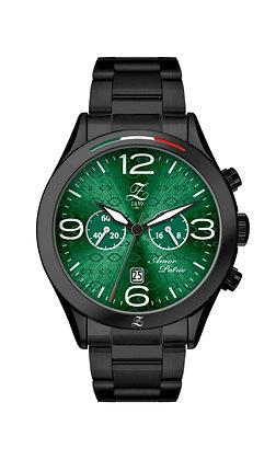 Cronografo Verde Boreale 44mm Nero Opacizzato