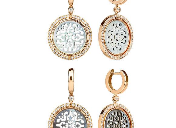 Reversible Damasco Earrings