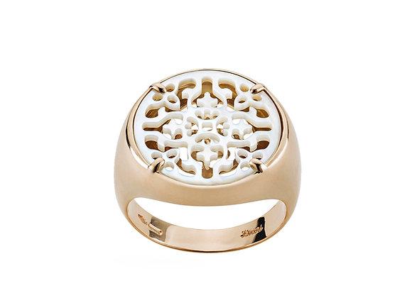 Rose Gold Damasco Ring