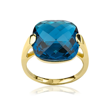 Anello Gioia Blu