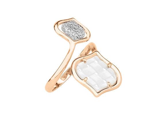 Rose Gold Venice Contrarié Ring