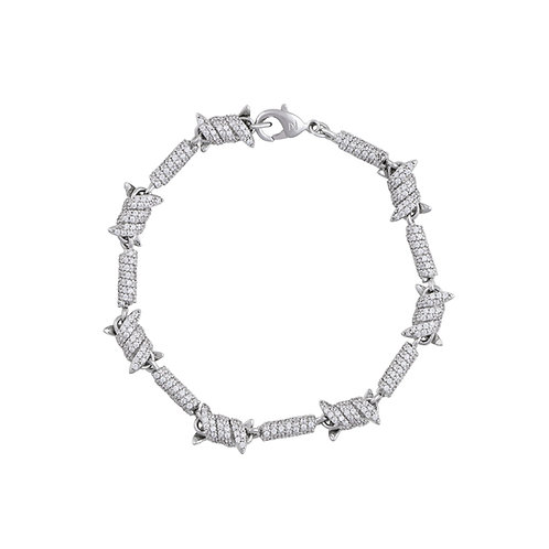 barbed wire pavé