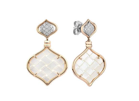 Rose Gold Venice Earrings