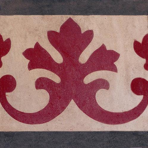 Pastina in cemento Fascia decorativa