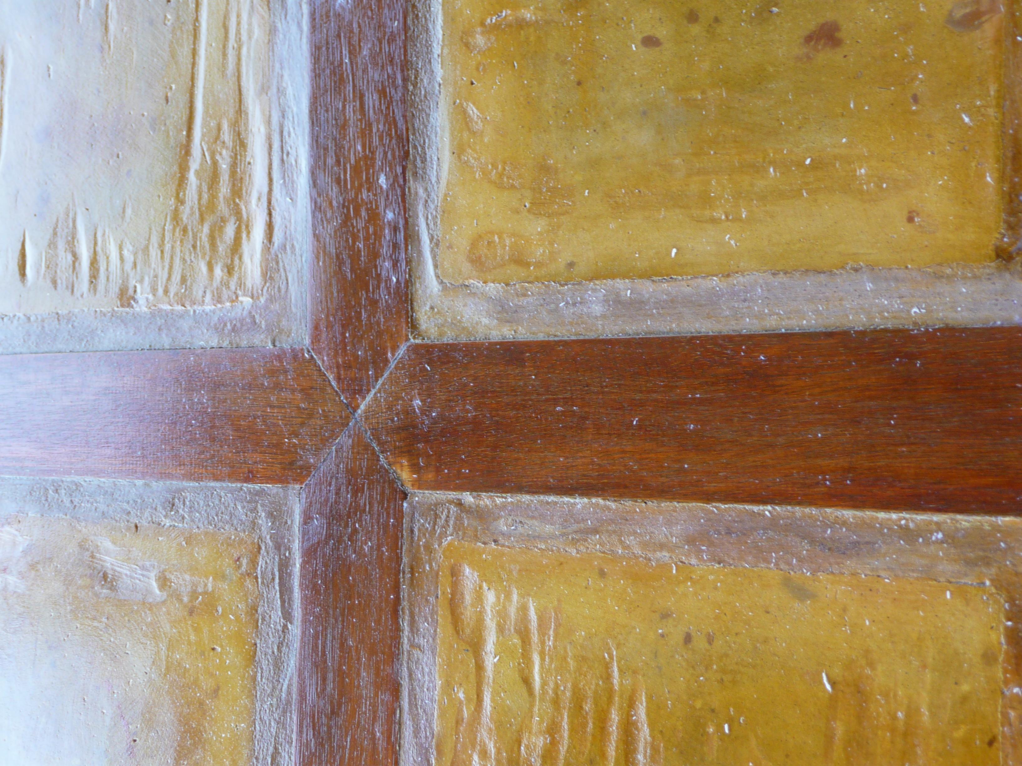 Levigature in cotto e legno