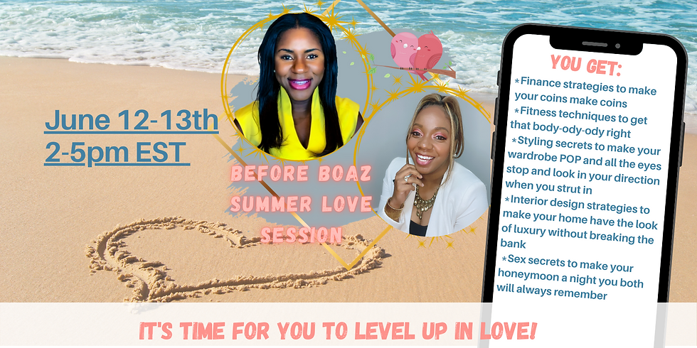 Before Boaz™ Summer Love Session