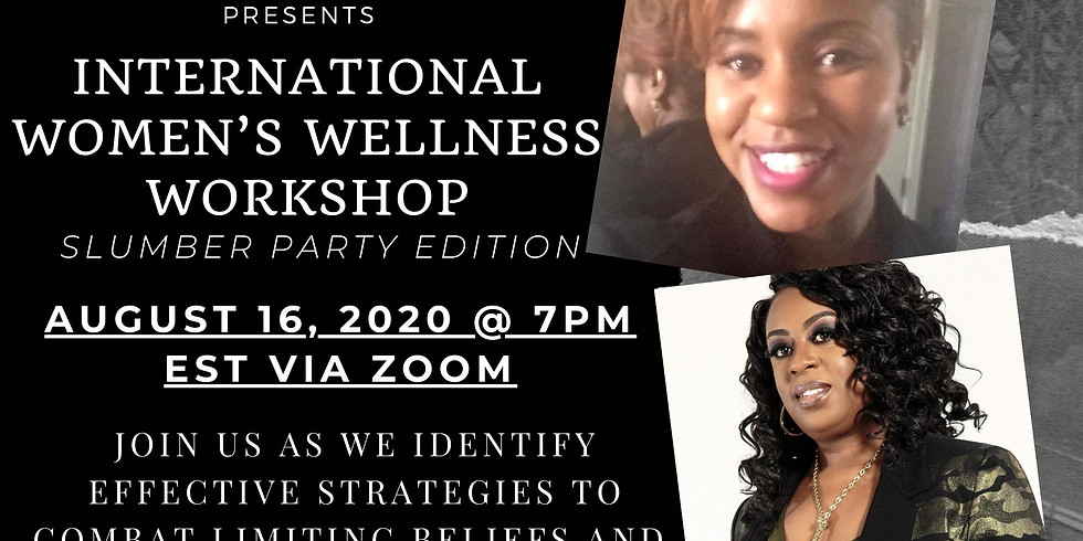 *Int'l Women's Wellness Workshop presented by ConfidenceNOW*  (1)