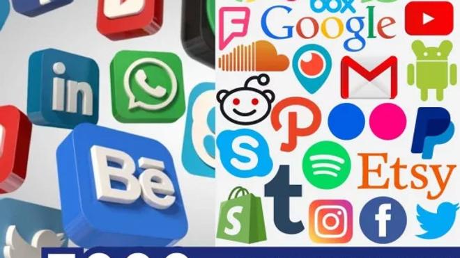 3000+ SOCIAL MEDIA SVG MEGA BUNDLE