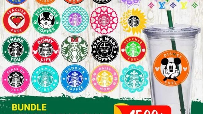1500+ Starbucks SVG Bundle