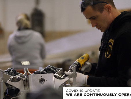 COVID-19 UPDATE - WE ARE CONTINUOUSLY OPERATING!
