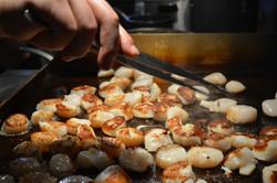 scallop cooking tweeze