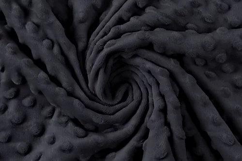 Minky Schwarz ab 0.5m