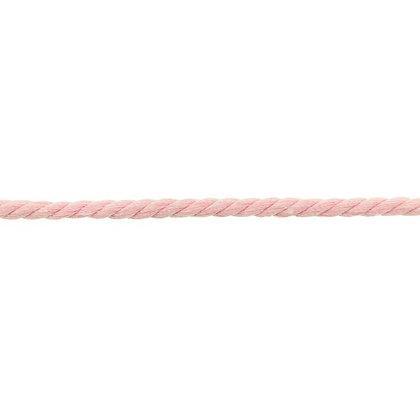 Gedreht Kordel 8 mm Rosa 0,5m
