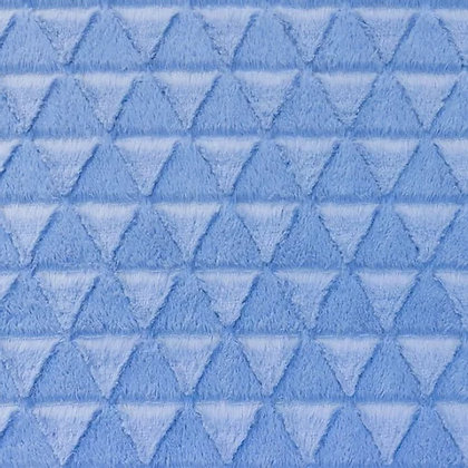 Pelz Stoffe Dreieck Alt Blau ab 0,5m