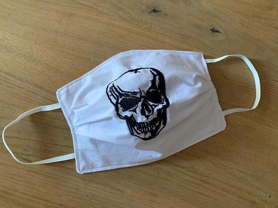 Mund Maske mit Bestickung nach Wunsch