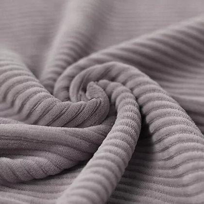Nicki Breitcord Jersey Stoff Grau ab 0.5m