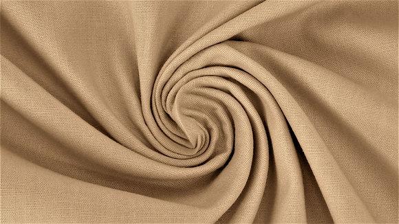 Baumwolle Beige ab 0,5m