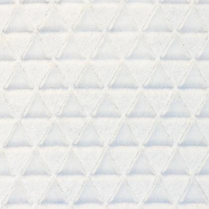 Pelz Stoffe Dreieck Off Weiß ab 0,5m