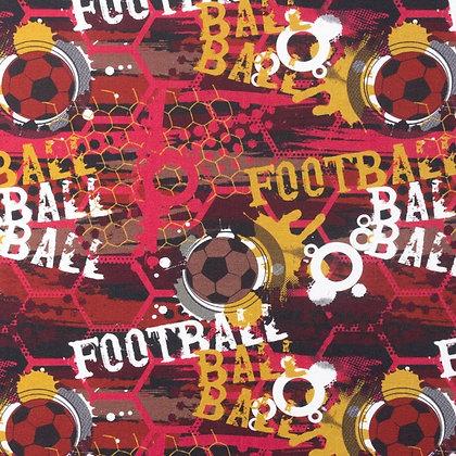 Jersey Bedruckt Football Rot ab 0,5m