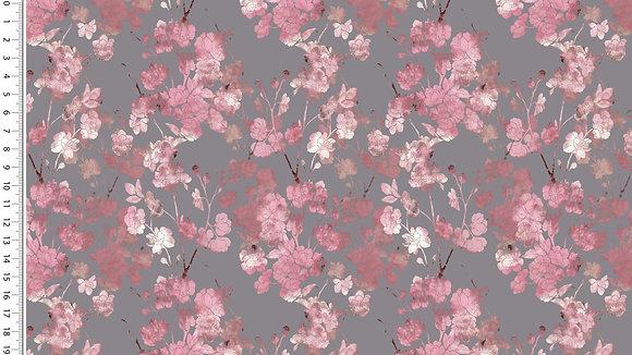 Jersey Digitaldruck Blumen ab 0.5m