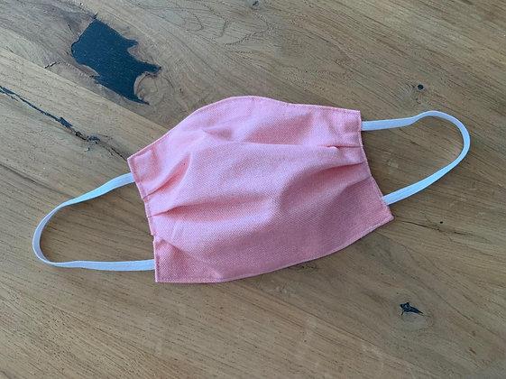 Mund Maske Orange-Rosa  (Beidseitig)
